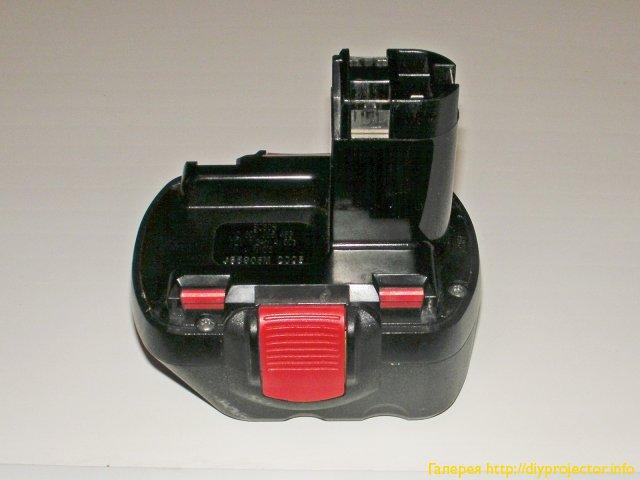 Аккумуляторный блок шуруповерта отдельно