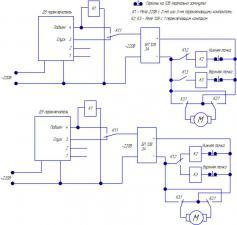 Прикрепленное изображение: Схема экрана с ДУ и авто стопом на герконах.jpg