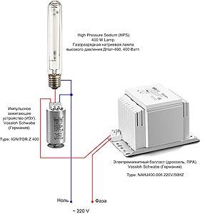 Проекторы напряжение на лампу