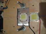 новый светодиод 150вт (на радиаторе) рядом 100вт